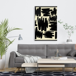 Magnetic 20 x 30 - Deconstructed stripes