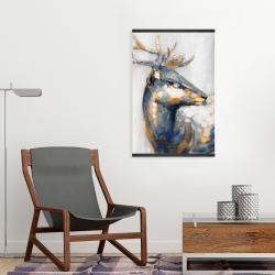 Magnetic 20 x 30 - Golden deer