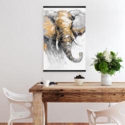 Magnetic 20 x 30 - Beautiful golden elephant