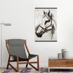 Magnetic 20 x 30 - Flicka the white horse