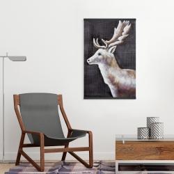 Magnetic 20 x 30 - Deer profile view in the dark