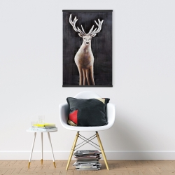Magnetic 20 x 30 - Lonely deer