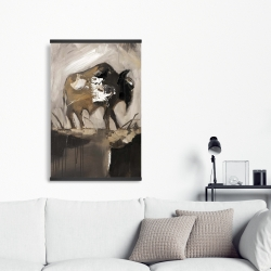Magnetic 20 x 30 - Abstract buffalo