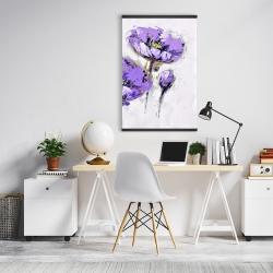 Magnetic 20 x 30 - Purple anemones