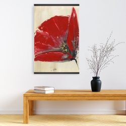 Magnetic 20 x 30 - Three red flowers