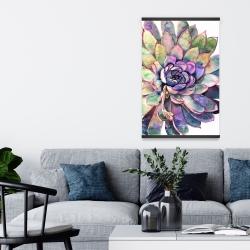 Magnetic 20 x 30 - Multicolored succulent