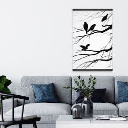 Magnetic 20 x 30 - Silhouette of birds