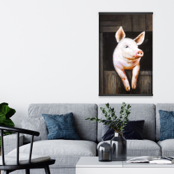 Magnetic 20 x 30 - Smiling pig