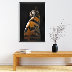 Magnetic 20 x 30 - Spotted cat