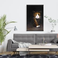Magnetic 20 x 30 - Discreet cat