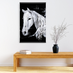 Magnetic 20 x 30 - Abstract horse profile view