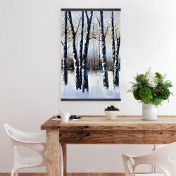 Magnetic 20 x 30 - Frosted trees
