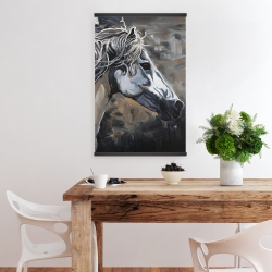 Magnetic 20 x 30 - Side of a wild horse