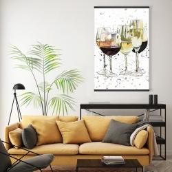 Magnetic 20 x 30 - Beautiful wine glasses