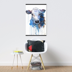 Magnetic 20 x 30 - Watercolor jersey cow
