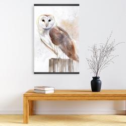 Magnetic 20 x 30 - Barn owl