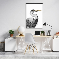 Magnetic 20 x 30 - Great heron