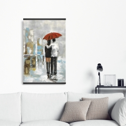 Magnetic 20 x 30 - Couple walking under their umbrella