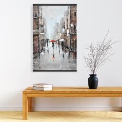 Magnetic 20 x 30 - City rain