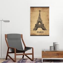 Magnetic 20 x 30 - Eiffel tower illustration