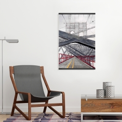 Magnetic 20 x 30 - Under the brooklyn bridge