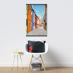 Magnetic 20 x 30 - Colorful houses in italy
