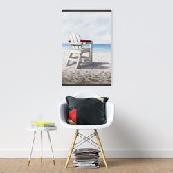 Magnetic 20 x 30 - White beach chair