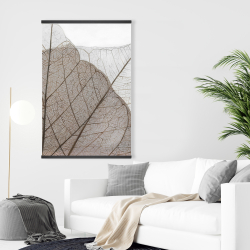 Magnetic 28 x 42 - Translucent dried leaves