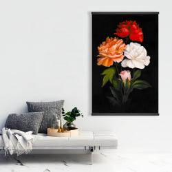 Magnetic 28 x 42 - Three beautiful rose flowers