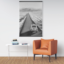 Magnetic 28 x 42 - Car on the road