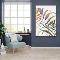 Magnetic 28 x 42 - Watercolor tropical palm leaves