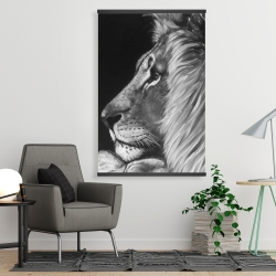 Magnetic 28 x 42 - Lion and lioness