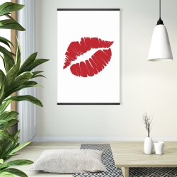 Magnetic 28 x 42 - Red lipstick mark
