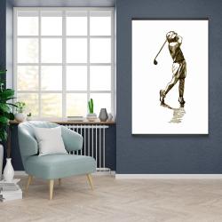 Magnetic 28 x 42 - Illustration of a golfer