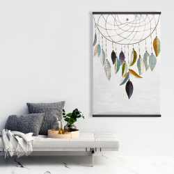 Magnetic 28 x 42 - Dreamcatcher with feathers
