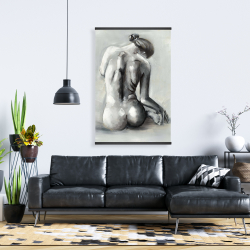 Magnetic 28 x 42 - Nude woman from behind