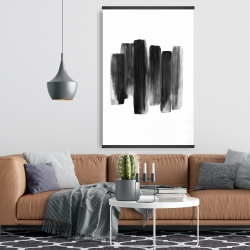 Magnetic 28 x 42 - Black shapes