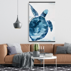 Magnetic 28 x 42 - Blue turtle