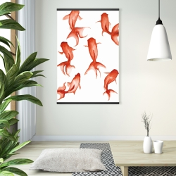 Magnetic 28 x 42 - Small red fishes
