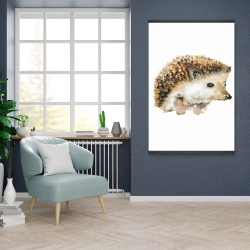 Magnetic 28 x 42 - Watercolor hedgehog