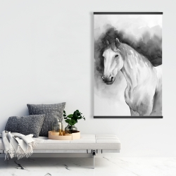 Magnetic 28 x 42 - Domino horse