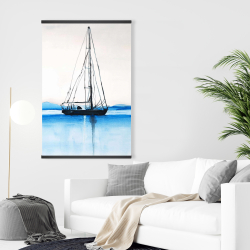 Magnetic 28 x 42 - Sailboat on a calm water