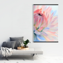 Magnetic 28 x 42 - Lotus pastel flower