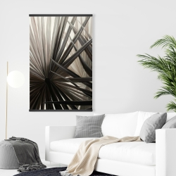 Magnetic 28 x 42 - Grayscale tropical plants