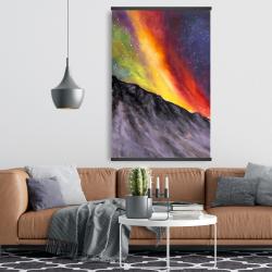 Magnetic 28 x 42 - Aurora borealis in the mountain