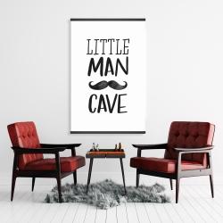 Magnetic 28 x 42 - Little man cave