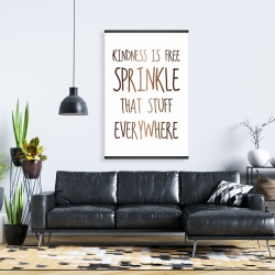 Magnetic 28 x 42 - Kindness is free sprinkle that stuff everywhere