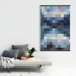 Magnetic 28 x 42 - Pixelated mountainous landscape