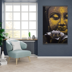 Magnetic 28 x 42 - The eternal smile of buddha and his lotus