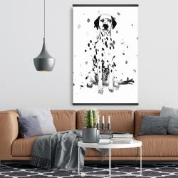 Magnetic 28 x 42 - Dalmatian dog